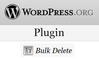 Bulk Delete Plugin versão em português